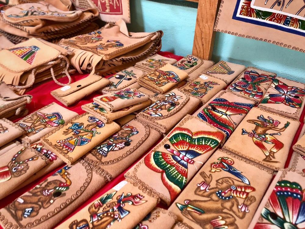Mayan handicrafts for sale
